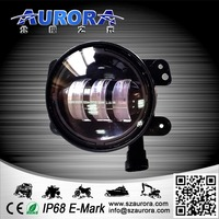 Hot Sale 4'' 30w round harley led fog light for Jeep