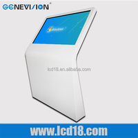 hot classical iphone design lcd led advertising digital kiosk all in one pc