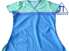 2016 fashion medical scrubs uniforms , tunics with contrast color