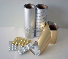 Pharmaceutical aluminium blister foil for pharmaceutical packing