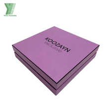 New Design Cardboard Apperal Gift Clothing Packaging Box For Sweater