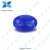 factory price egg shape large size o.spinel d nano gemstone