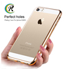 mobile accessories soft plating case for iPhone 5C cheap mobile phone plating shell