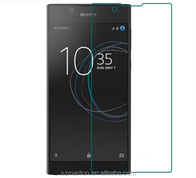 Scratch resistant glass premium <strong>phone</strong> screen protector for Sony Xperia <strong>L1</strong> with retail package