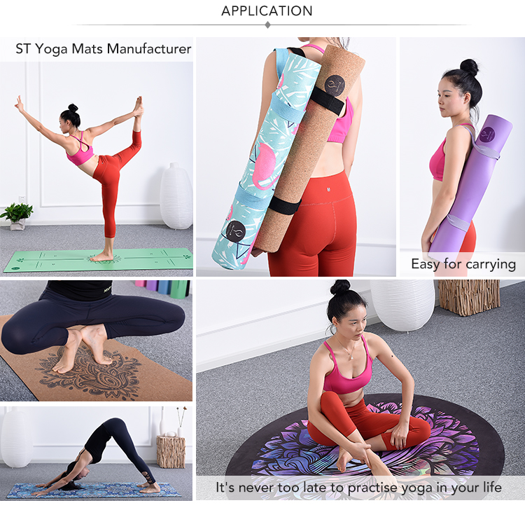 Free sample wholesale new premium yoga matt custom eco friendly private label anti slip natural rubber tpe free yoga mat