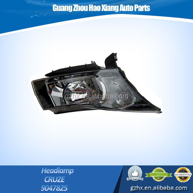 Powerful Auto/Car Accessories Front Head lamp 9047825 for Chevrolet Cruze