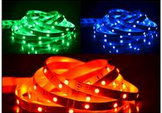 5050RGB color flexible led strip with RGB contronller 12Vot 5m/roll