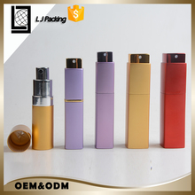 5ml 8ml empty twist atomizer aluminum glass refill tube perfume bottle