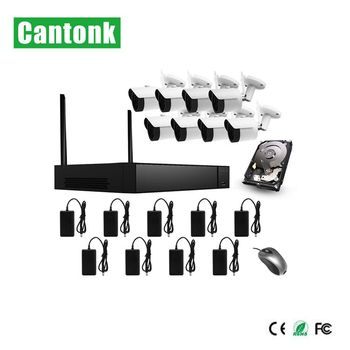 new h.265 h.265+ 8ch wifi kits with 1080p ip camera wifi