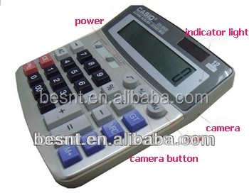 New technology 64 GB sd card micro hidden calculator camera BS-796
