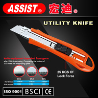plastic knife simple but practical snap off three blades heavy duty pocket knife plastic utility knife