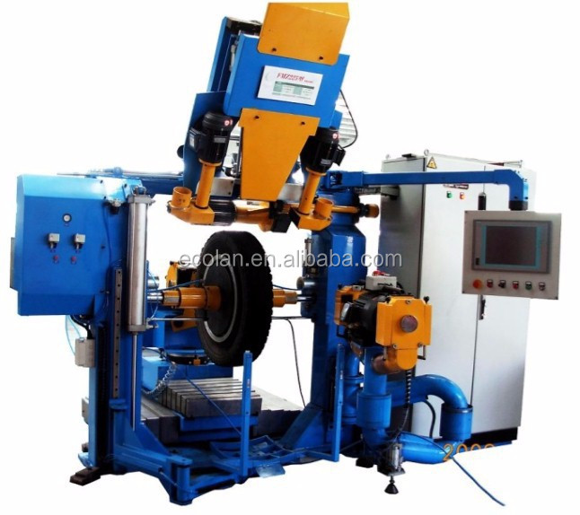 Tire retreading machine from World's No.1 rubber machinery manufacturer/Automatic Buffing Machine