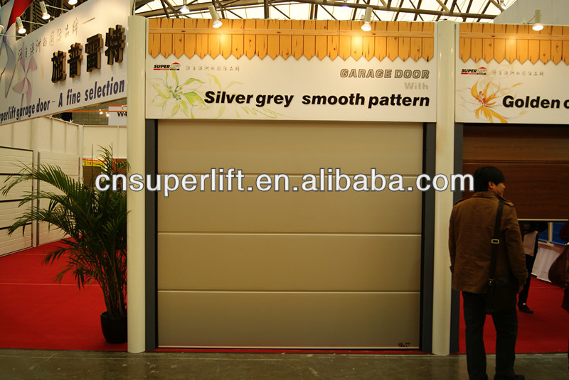 galvanized steel garage door