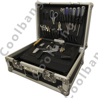 Penn-elcom CBE021 aluminum road trunk tool box flight case 150mm high