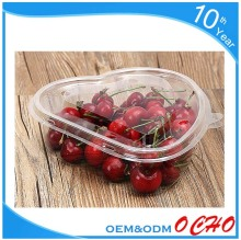 New style small clear clamshell plastic food fruit packaging box for fresh blackberry