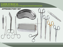 APPENDECTOMY SET /Medical Surgical Instruments/SURGICAL INSTRUMENTS