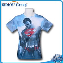 Custom 100% Cotton Sublimation Print Shirt Men All Over Print T-Shirt