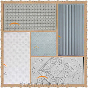 Decorative beautiful types of gypsum ceiling board mould