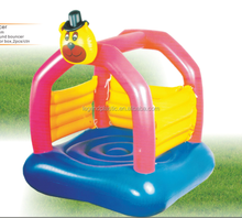 inflatable jumping bouncer for kids, PVC inflatable outdoor indoor bear jumping castle