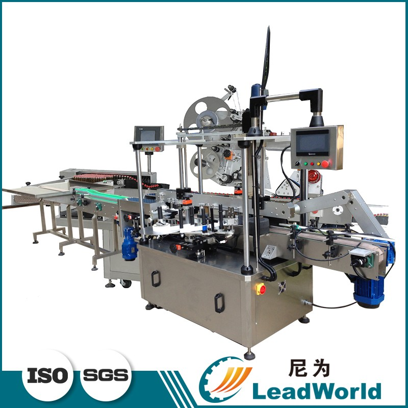 Technical Dairy Products Flat Bottles Labeling Machine