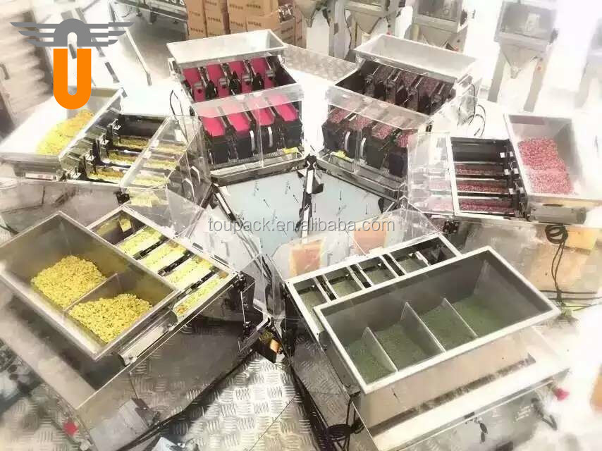 8 head linear weigher/linear scale