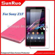 Premium Tempered Glass Screen Protector for Sony z1f Sony Z1 Compact L39H xperia z
