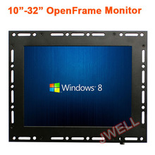 Open frame monitor 10.4 inch touch screen 4:3 HD TFT LCD monitor for <strong>advertising</strong>