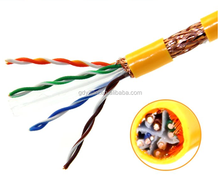best price Manufacturer Cat6 cat5e Cable utp stp ftp sftp Indoor Outdoor 300m Lan network Cable