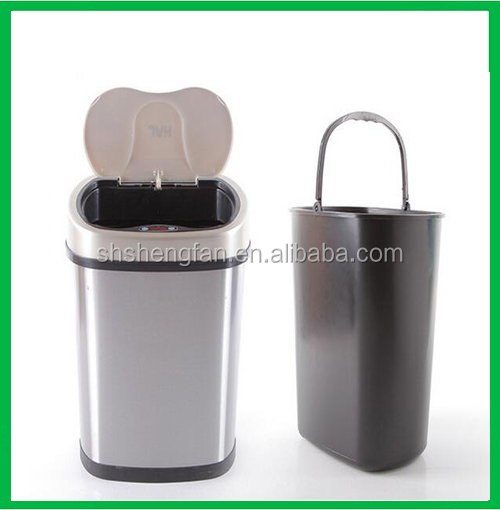 Automatic Sensor Touchless stainless steel trash can