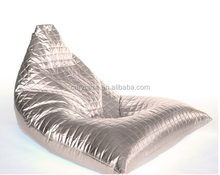 Twist Outdoor bean bag chairs GOLDEN and Silver Color