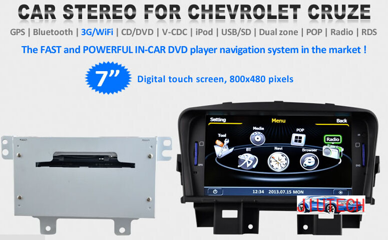 "7"" Car Radio for Chevrolet Orlando GPS Navigation Sat Nav Multimedia Headunit car DVD player"