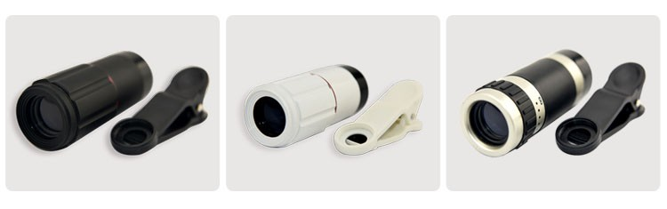 Portable Mobile Phone Lens 8x Zoom Optical Telescope Camera Lenses
