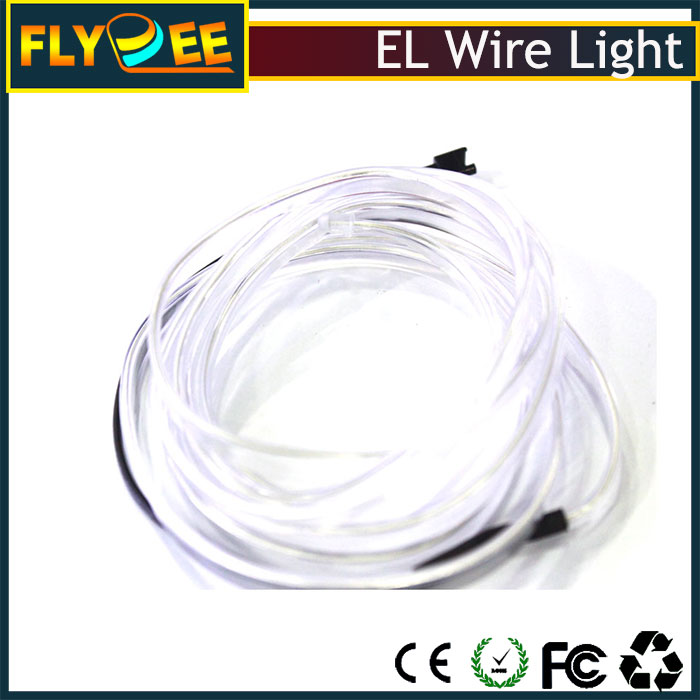 factory price 2.3mm remote control el light cables cheap ice blue colorful el wire for decoration