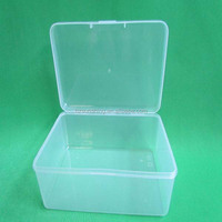 Wholesale Price Hard PP Translucent Cosmetic Packaging Cases