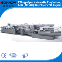 PBL 350 -300 Factory Sale Ampoule Packing Production Line