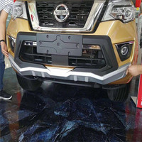 abs material ront & Rear Bumper Guard bumper protector for Nissan Terra 2018 Car 4x4 Accessories