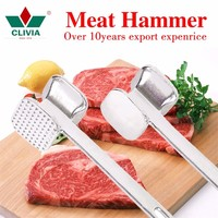 hand operate metal tenderizer for beef