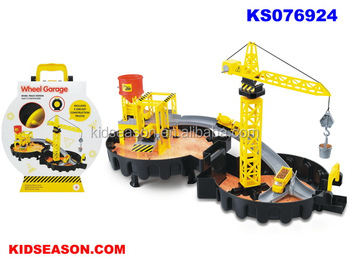 KIDSEASON KIDS PLAY TOYS PARKING LOT SET WHEEL GARAGE