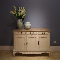 living room nostalgic style three doors and drawers sideboard ST9344