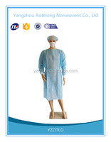 Wholeasale SMS nonwoven surgical gowns and isolation gowns for hospital