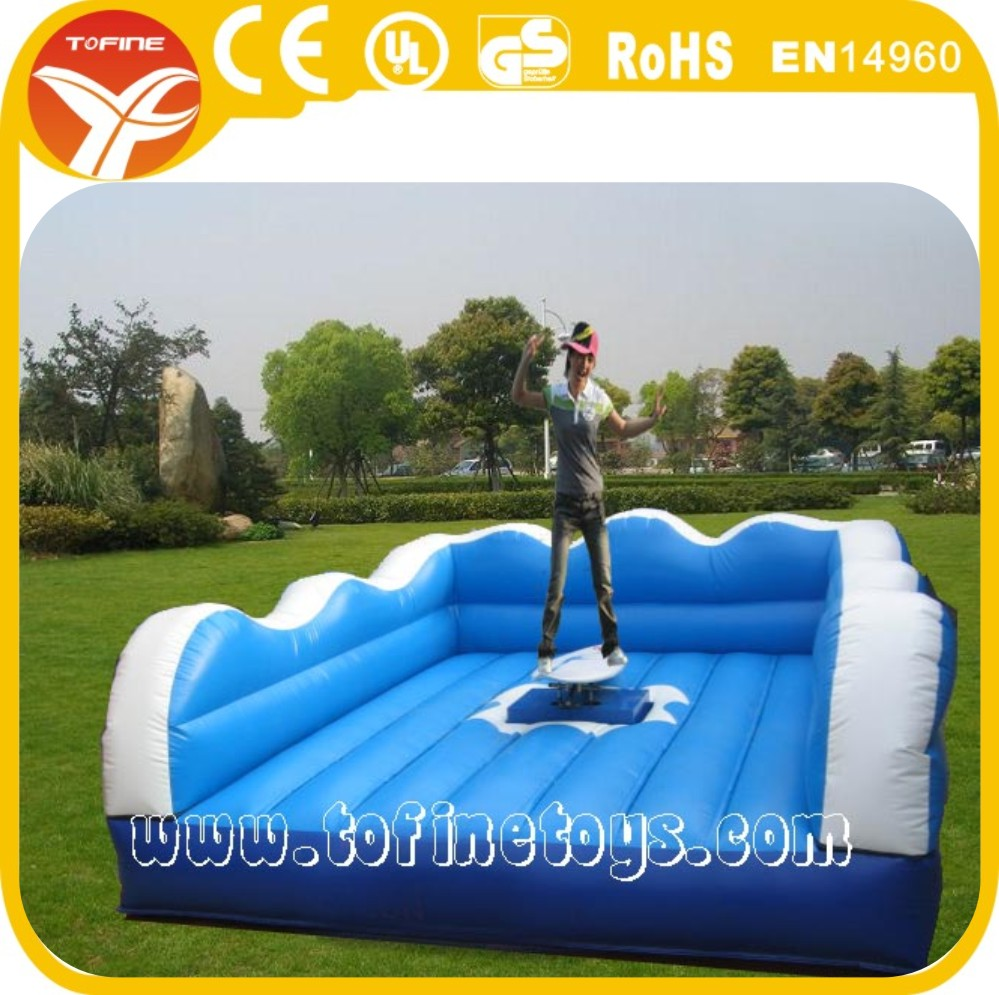 fun inflatable surfboard/mechanical surfboard/mechanical surf simulator