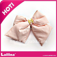 Newest Pink Shoe Fabric Flower For Decoration
