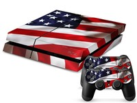 Colorful Console Decals for PS4 and PS Controllers Dustproof with Cheap Price