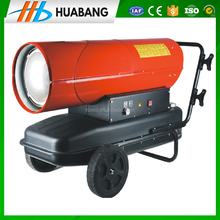 Coal/oil/gas fired hot air heater for greenhouse, poultry house