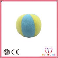 GSV certification most fashion holiday gifts soft plush baby ball toy