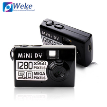 WEKE Best Good Black mini dv Video Camera MD80 with Webcam function