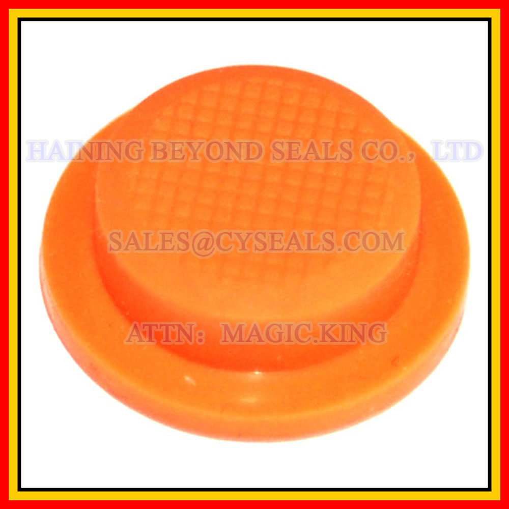 Custom rubber cap button, OEM rubber cap button, rubber cap button