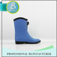 Most popular Home-use Latest design shiny and sexy girl horse riding rubber rain boots