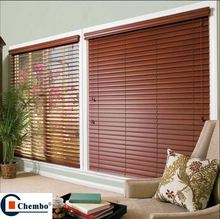 replacement wood slats for horizontal hollow sunshade shutter blinds