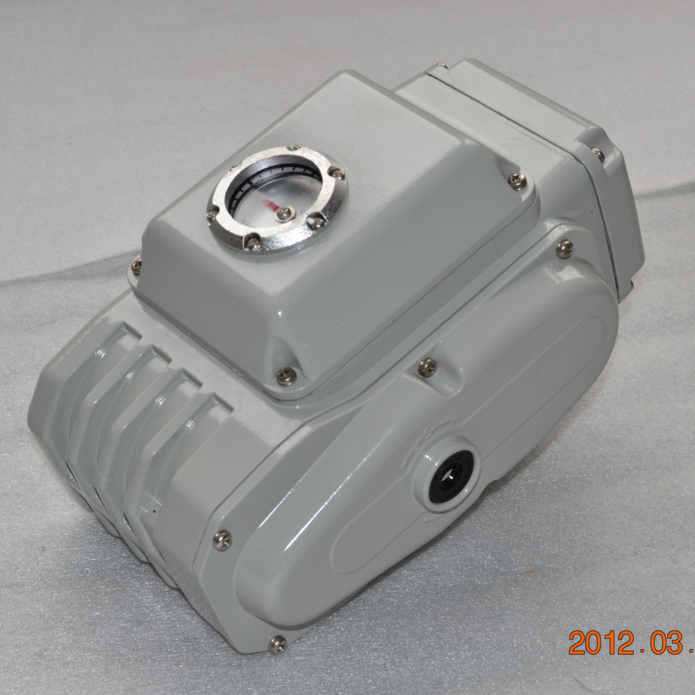 rotary damper dc valve electric actuators